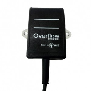 Capacitive overflow sensor