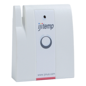 Temperature data logger for parcels and coolers