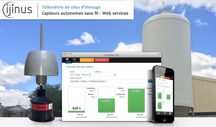 Solutions Ijinus pour silos élevage