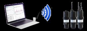 Configuration sans fil d'un capteur de niveau par ultrason LNU - Ijinus