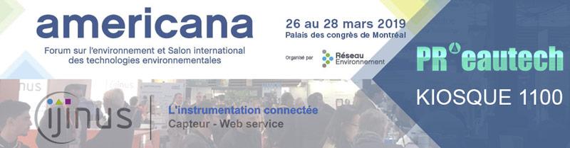 Americana 2019 à Montreal, le Salon international des technologies environnementales