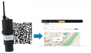 Scan the QR code on the sensor