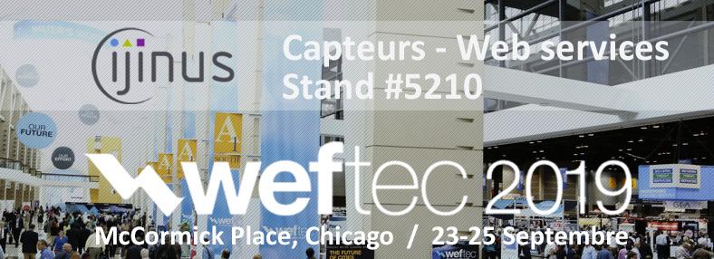Weftec Chicago 2019 - Ijinus stand 5210