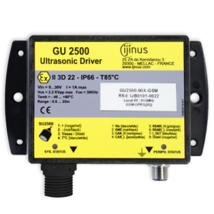 Générateurs communicant GU pour sondes ultrason déportées