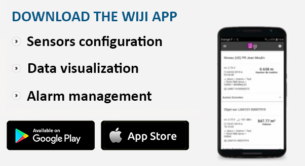 App Wiji available on android and IOS