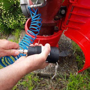 Enregistreur permettant de mettre en place une mesure de pression rapidement sans risque d'interférer sur l'utilisation du réseau d'eau potable