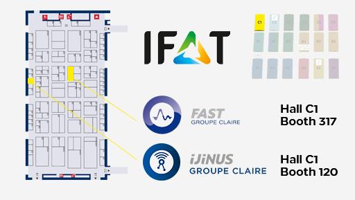 IFAT Hall C1 - Ijinus Groupe Claire