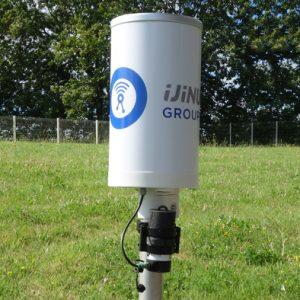 Pluviomètre et enregistreur LOG03V3-3G antenne HF et GSM interne