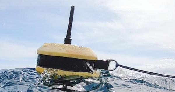 Instrumented buoys GPRS