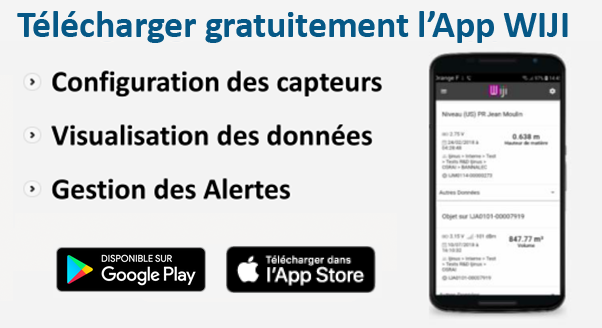 App WIJI pour Android & IOS