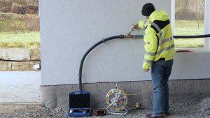 Aiguille de traçage pour la recherche de fuite d'eau