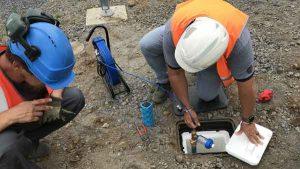 Recherche de fuite d'eau grace à l'aiguille de traçage PipeMic
