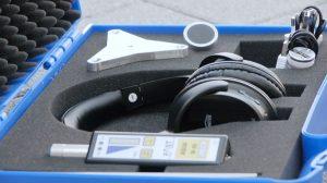 Détecteur de fuites avec accessoires