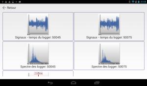 Logiciel Android AZA-OAD Analyse de données