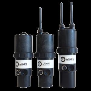 Capteur de niveau par ultrason LNU06V3 autonome et communicant -Ijinus