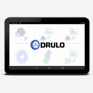 Android App de configuration de l'enregistreur de pression Drulo 3