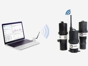 Configuration des enregistreurs et capteurs en radio