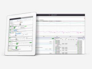 Logiciel de configuration et d'analyse de données Avelour 6