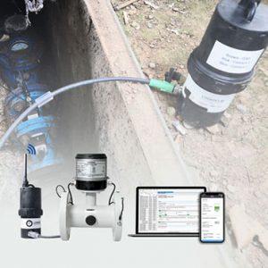 Comptage et mesure de pression des réseaux d'eau potable