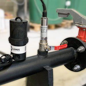 Capteur pression absolue CPA sur conduite d'eau