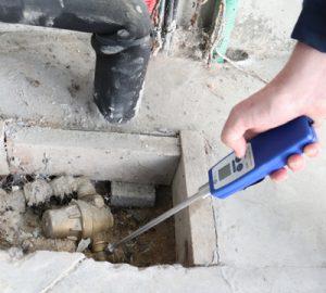Détecteur de fuite d'eau avec ralonge