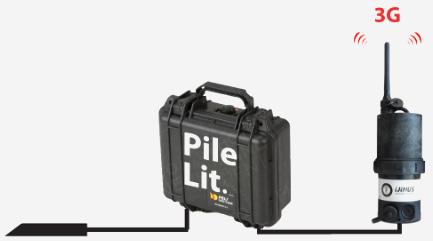 Capteur hauteur vitesse autonome VLI Pack batterie Logger 3G