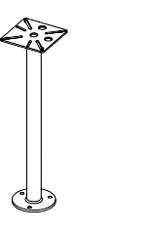 Support pour pluviomètre RG25