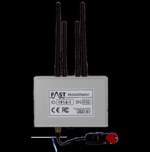 Concentrateur itinérant pour recueillir et transmettre par GSM les données des prélocalisateurs BIDI
